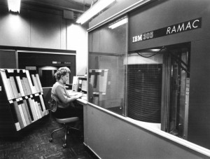 RAMAC harddisc